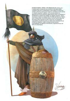 Christos Giannopoulos - Soldado abasida - Siglo X DC