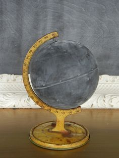 chalkboard globe:: draw the change you wish to see in the world.