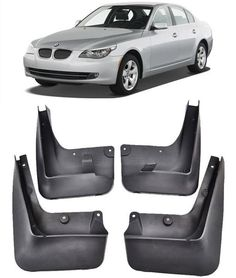 OEM Molded Black Plastic Rear Deluxe Splash Guard Mud Flap Pair for Charger New
