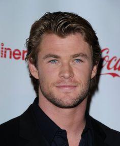My handsome Chris Hemsworth <3<3<3