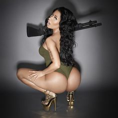 This Is How Nicki Minaj Looked Before Her Booty Enhancements