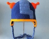 Crochet Pattern PDF Geo Hat. Beanie and Earflap. (All Sizes Included: Newborn to Adult). Permission to sell finished items.
