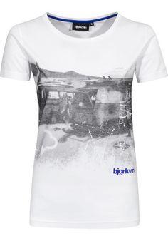 Björkvin Hoarfrost T-Shirt white | Titus Onlineshop