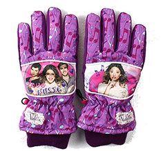#Disney #Violetta #Ski #Handschuhe #5 #Finger #(7-8 #Jahre, #Lila) - Disney…