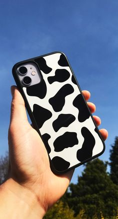 Iphone Cases Discover Cow Print iPhone case All Cases on sale now! Girly Phone Cases, Pretty Iphone Cases, Iphone Phone Cases, Iphone Case Covers, Animal Phone Cases, Accessoires Iphone, Aesthetic Phone Case, Cute Cases, Cow Print