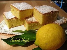 Quadrotti soffici al limone