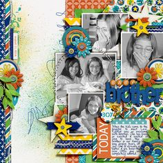 Boytown by Melissa Bennett AVAILABLE at Sweet Shoppe Designs 8/23 Template Set 174 by Cindy Schneider Little Sew n Sew by Erica Zane Color ...