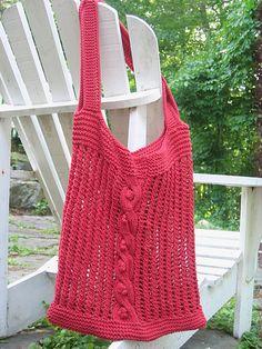 Sundance Beach Bag #knit #free_pattern