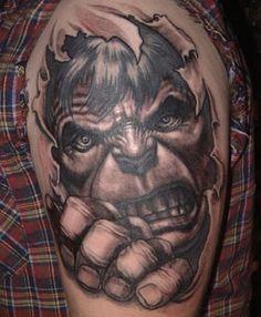 Incredible Hulk Tattoo