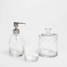 Acessórios de Banho Transparente