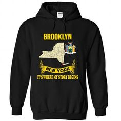 Brooklyn  Its where my story begins LIMITED TIME ONLY. ORDER NOW if you like, Item Not Sold Anywhere Else. Amazing for you or gift for your family members and your friends. Thank you! #brooklyn #shirts