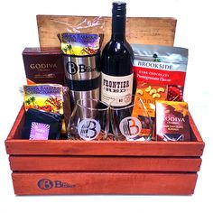 A cut above those other corporate gifts.  This Wine Gift Basket featuring some awesome gourmet local coffee, tasty treats and some of the finest central coast wine out there. Enjoy!
