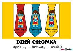 Dzień Chłopaka - medale i dyplomy (oraz wiele innych!) - Pani Monia