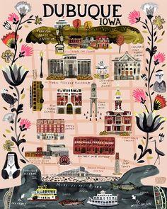 illustrated maps book carolina amell mapas ilustrados 2