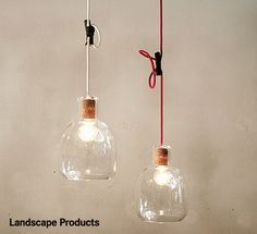 Landscape Products (ランドスケープ ボトルランプ) PP Blower Bottle Lamp