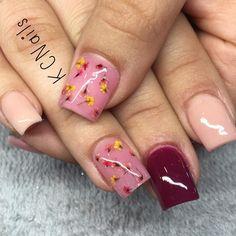#nailtech #nailswag #nailgameonpoint #solidnails #acrylicnails #peachnails #rednails #pinknails #gradientnails #floralnails #rednails #driedflowers #encapsulatednails #springnails #springnails2016 #photoinspired #gpnails #grantspassnails #southernoregonnails #541nails #prettyfancynails by pretty_in_polish92