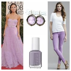 Love pastels and especially lavender right now...