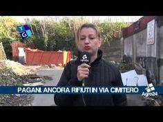Pagani. Salerno. Nuovo sversamento di rifiuti in Via Cimitero