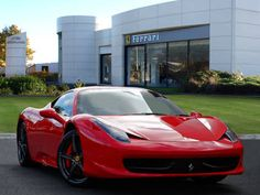 Used 2013 ( reg) Red Ferrari 458 for sale on RAC Cars