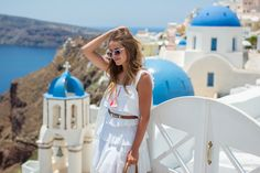 We kept turning down paths and almost every time, ended up finding something incredible. Greek Islands To Visit, Best Greek Islands, Most Beautiful Greek Island, Baguette, Europe Outfits, Best Family Vacations, Bcbg Dresses, Gal Meets Glam, Little White Dresses
