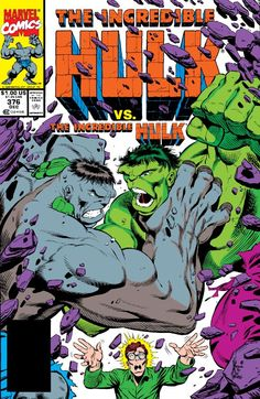 The Hulk is a fictional character, a superhero in the Marvel Comics Universe. Created by Stan Lee and Jack Kirby, the character first appeared in The Incredible Hulk (May Marvel Comics Superheroes, Hulk Marvel, Marvel Comic Books, Marvel Dc Comics, Marvel Heroes, Comic Books Art, Avengers, Comic Art, Univers Marvel
