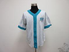 Vtg 90s Artex Florida Miami Marlins Soft Baseball Jersey sz XL Extra Large MLB #Artex #FloridaMarlins  #tcpkickz