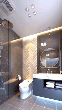 Modern Luxury Bathroom, Bathroom Design Luxury, Bathroom Layout, Modern Bathroom Design, Interior Design Kitchen, Modern Toilet Design, Toilet And Bathroom Design, Small Toilet Design, Wc Design