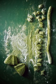 Matcha Gnocchi with Ginger, Orange Butter and Butternut