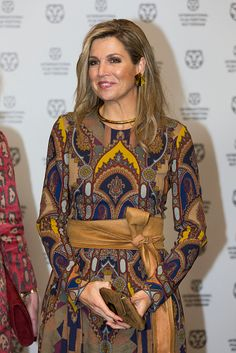 Royal Family Around the World: Queen Maxima Of The Netherlands Attends Opening Rotterdam International Film Festival on January 27, 2016 in Rotterdam, Netherlands