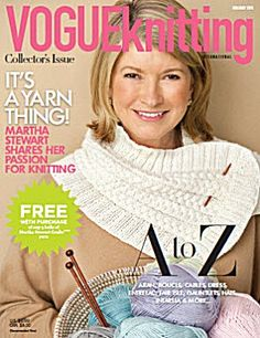 Vogue Knitting Magazine: Holiday 2011
