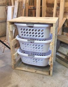 Anyone who is into organization or saving space needs one of these!! These can…: