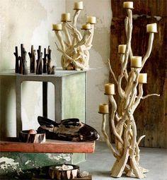Kilka kreatywnych pomysłów na dodatki do mieszkania wykonane z drewna