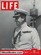 15-Sep-1941 life magazine cover: Lord Mountbatten