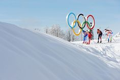 Athletes compete in the Women's Team Sprint Classic Semifinals (c) Getty Images