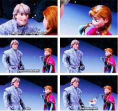 Seven Scenes From Frozen that Will Melt Your Heart (Starring Olaf)... Speaking of frozen hearts, this seemed appropriate.
