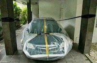 Flood-proof car bag, anyone?
