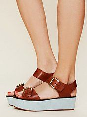 ugh, I am obsessed with these. the blue part is SUEDE. Caltha Platform. Free People.