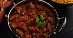 Pork Vindaloo Recipe - A traditional goan delicacy! Pork meat flavored with sweet and tangy flavours of gur, chillies, ginger, garlic and fried perfect. Vindaloo, Desi Food, Food Shows, Cook At Home, Pork Dishes, Indian Dishes, Pork Recipes, Indian Food Recipes, A Food