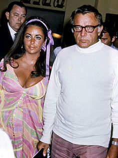 """Husband #5 & #6: Elizabeth Taylor & Richard Burton  married & divorced: (March 15, 1964 – June 26, 1974; October 10, 1975 – July 29, 1976): The Vatican condemned Burton and Taylor's affair, which began when both were married to others, as """"erotic vagrancy"""".The press closely followed their relationship before, during, and after their ten years of marriage,"""