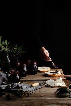 Blackberry jam by Raquel Carmona - COOK Chutney, Dark Food Photography, Photography Ideas, Life Photography, Cooking Ingredients, Food Pictures, Food Styling, Food Art, Food Inspiration