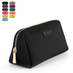CHICECO Handy Cosmetic Pouch Clutch Makeup Bag - Black #cosmeticbags #makeupbags #cosmeticpouch