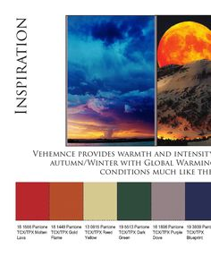 Resilience A/W 2018-19 Trend Book: colors & inspirations trends