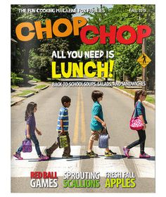 Get your littlest loved ones excited about cooking with the help of this smart, playful periodical. Named the prestigious James Beard Foundation's Publication of the Year in 2013, its focus is on healthy eating—but the activities and recipes inside, like beany burgers and pear honey crisps, are so appealing that it never comes across as preachy.