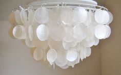 shell ceiling light