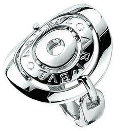 Silver bvlgari ring