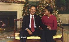 Watch The Obamas' Final Holiday Address