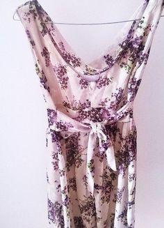 Sukienka wzór kwiatowy Orsay
