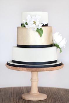 champagne black white wedding cake brides of adelaide magazine