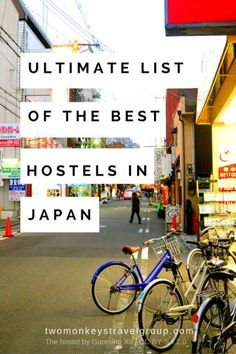 Ultimate List of The Best Hostels in Japan