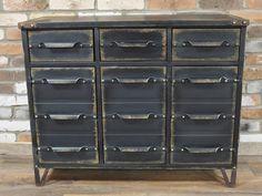 industrial-cabinet-l1 Metal Sideboard, Sideboard Cabinet, Cabinet Drawers, Cupboard, Shoe Cabinet, Metal Storage Cabinets, Utility Cabinets, Metal Drawers, Large Drawers